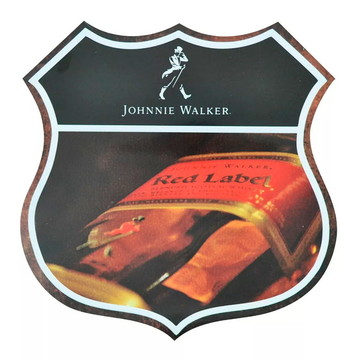 Quadro Decorativo Retro-vintage - Johnnie Walker - Red Label