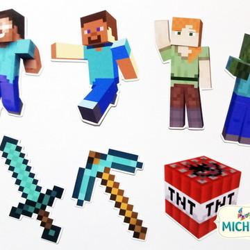 Apliques - Minecraft