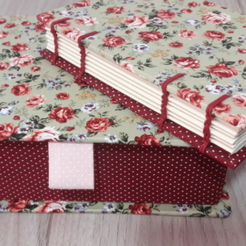 Caixa + Caderno Floral