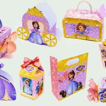 Kit Digital Arquivo Corte Silhouette Princesa Sofia 1