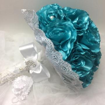 Buque De Noiva Tiffany-brinde Cravo Lapela-tendência 2018