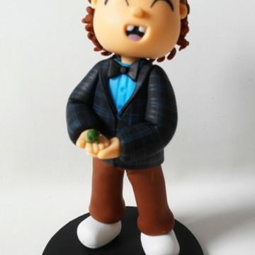 Estatueta personalizada Dustin de Stranger Things 2