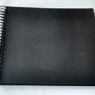 Album Para Scrapbook Grande 33x33 Livro de Assinatura