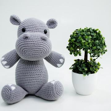 Amigurumi hipopotamo