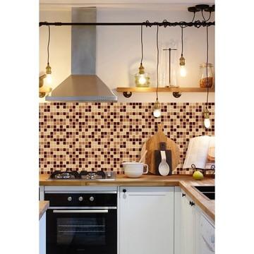 Papel de Parede Cozinha Pastilha Azulejo