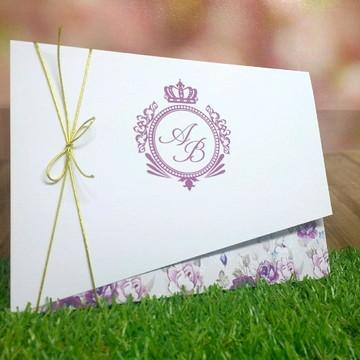Convite de Casamento (modelo 2)
