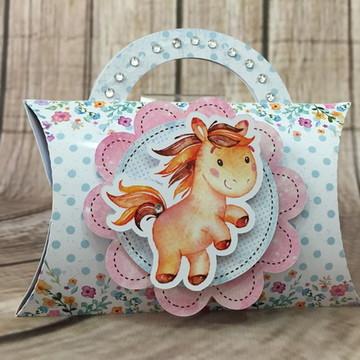 Caixa Travesseiro Unicornio