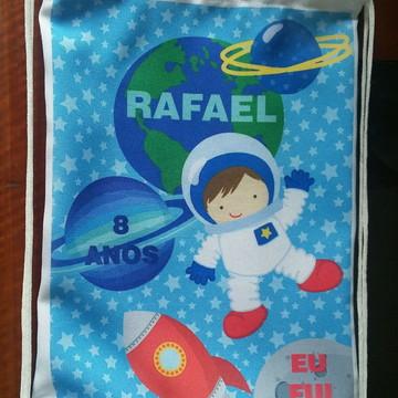 Mochila personalizada astronauta