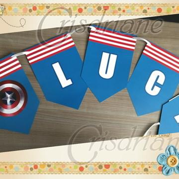 Bandeirola Capitão America