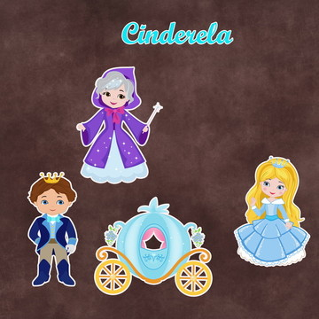 Recortes - Cinderela