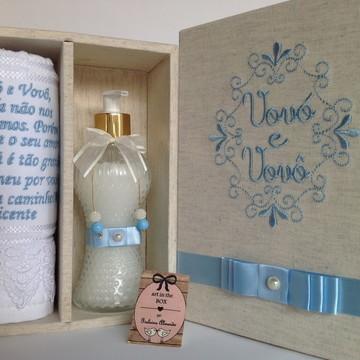 Caixa Luxo anunciar gravidez