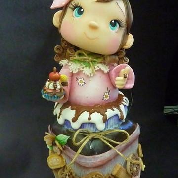 Pote bolacha Rosalita Cup Cake