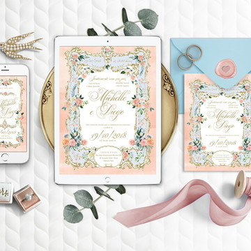 Convite (arte digital) Baroque