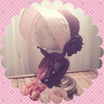 Chapéu camponesa rosa poás