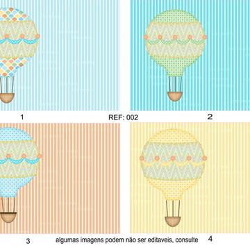 Balão Estampa para Costura Criativa
