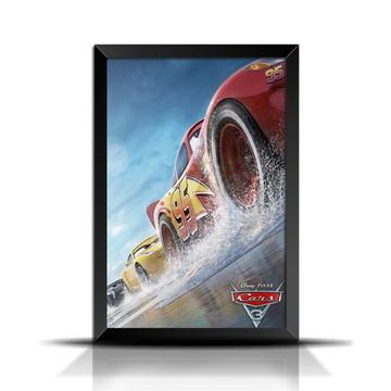 Quadro Poster Filme Carros 3 - GF012