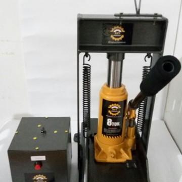 829bce596 Máquina De Fazer Chinelos Completa 10 Facas e matéria prima