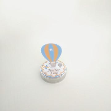 Latinha personalizada balão de ar