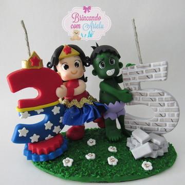Mini Topo Super Herois
