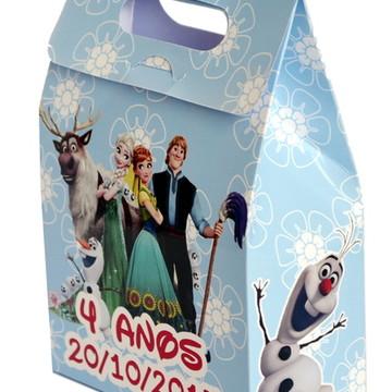 Sacolinha surpresa personalizada Frozen