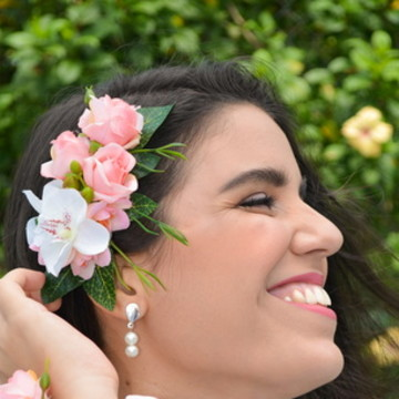 ARRANJO PARA CABELO PERFECT FLOWERS
