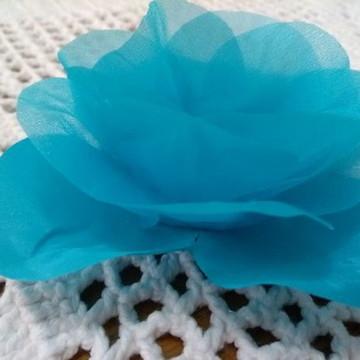 Rosa Azul - organza cristal