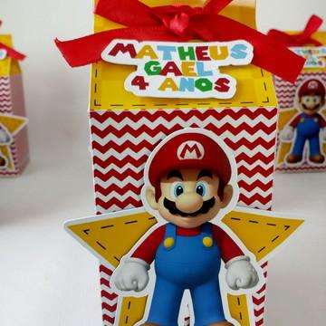 Caixa Milk Mario Bross