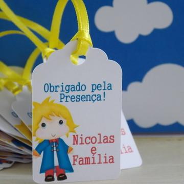 Tag Pequeno Príncipe [kit com 10 tags]