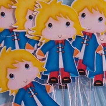 Pequeno Príncipe [kit com 10 toppers]