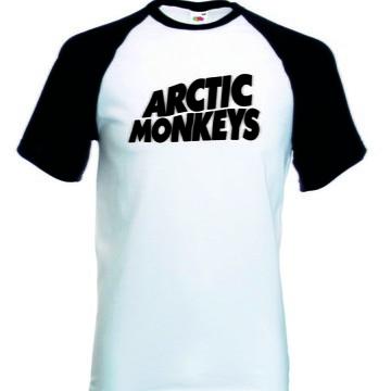 Camiseta Raglan Manga Curta Arctic Monkeys