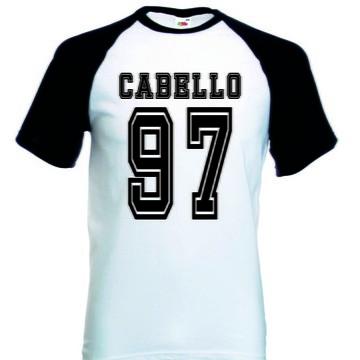 Camiseta Raglan Manga Curta Camila Cabello