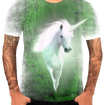 Camisa Camiseta Personaliza Animal Desenho Unicórnio 7