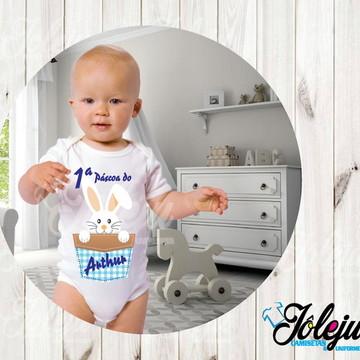 Roupa de bebê pascoa