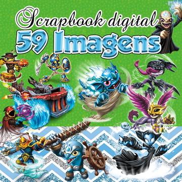 Scrapbook Digital Skylanders
