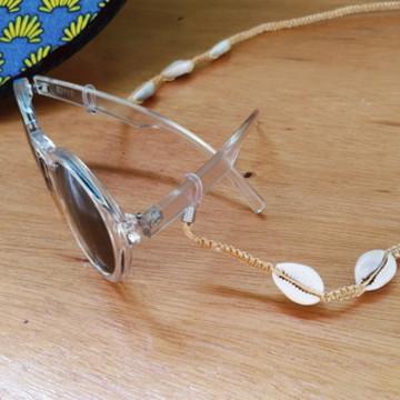 Cordão segura óculos