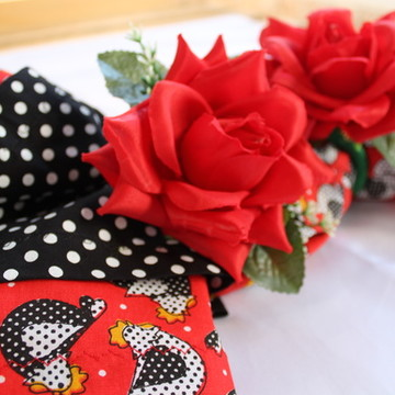 Porta Guardanapo Rosas Vermelhas HA907