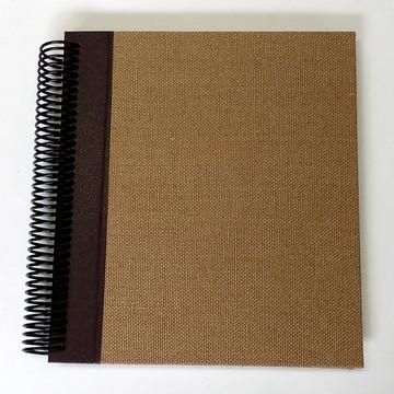 Caderno Especial Linho Mel