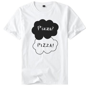 Camisa Camiseta A Culpa é das Estrelas Pizza Pizza Nuvem