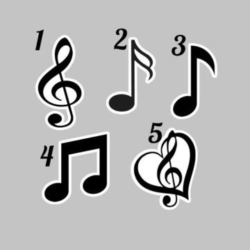 APLIQUE NOTA MUSICAL