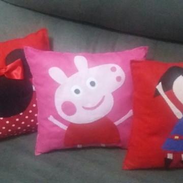 almofadas personalizadas em feltro.../ Sao Paulo /