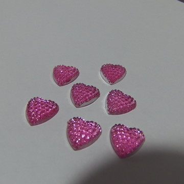Chaton Coração Brilhante Rosa