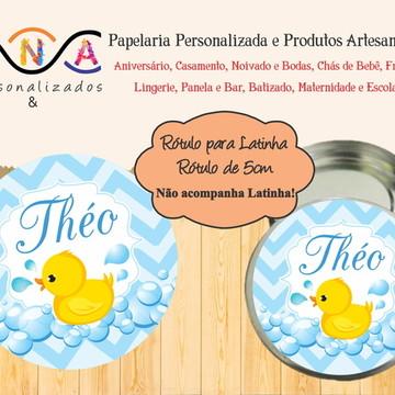 Adesivo Patinho - Latinha