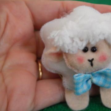 aplique lembrancinha ovelha
