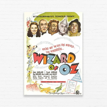 Quadrinho 19x27 Wizard of Oz