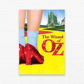 Quadrinho 19x27 Wizard of Oz - Dorothy's Slippers