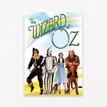 Quadrinho 19x27 Wizard of Oz - Road to Oz