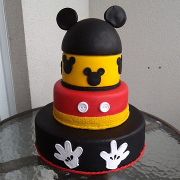 Aluguel Bolo Fake Mickey (Biscuit)