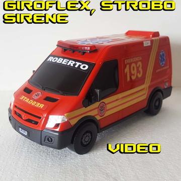 972bc8a57e Ambulância Corpo De Bombeiro Giroflex