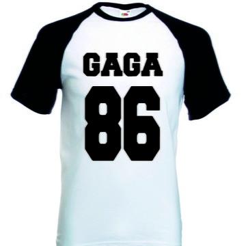 Camiseta Raglan Manga Curta Lady Gaga
