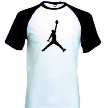 deacc44b178 Camiseta Raglan Manga Curta Jordan Basquete
